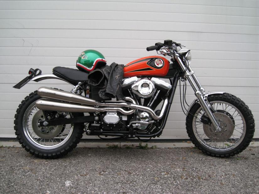 HD Dyna Scrambler 1340 by Stile Italiano